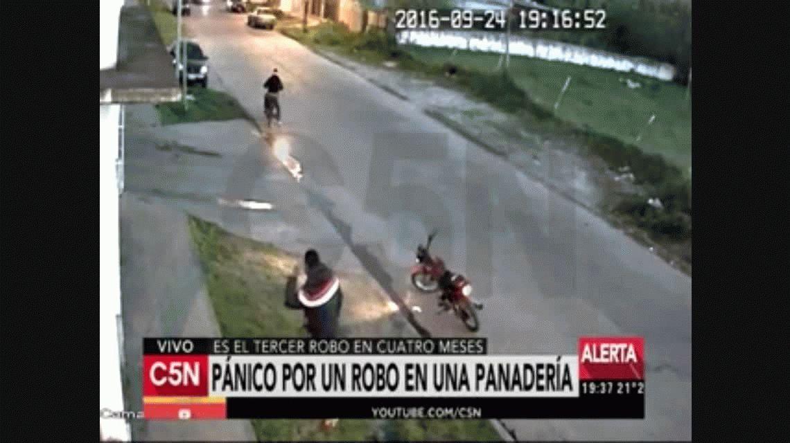 Violento robo en una panadería de La Plata: amenazaron a los empleados y luego huyeron