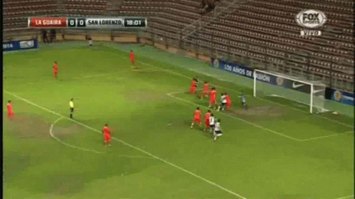San Lorenzo le ganó a La Guaira en Venezuela y se metió en cuartos de la Copa