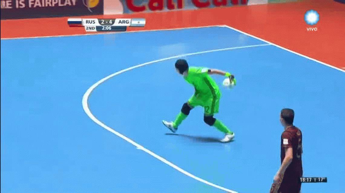 Histórico: Argentina venció a Rusia y es campeón del Mundial de Futsal