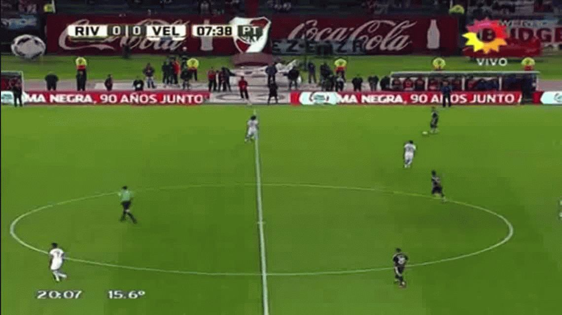 River goleó en el Monumental y profundizó la crisis de Vélez