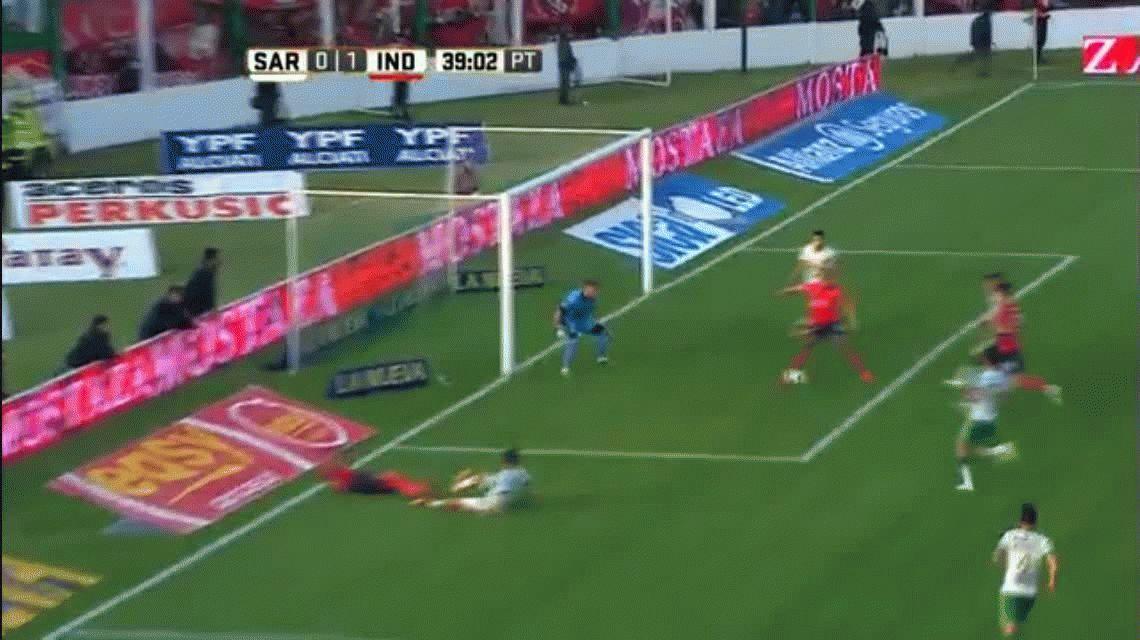 Independiente derrotó a Sarmiento en Junín y se prende en la pelea