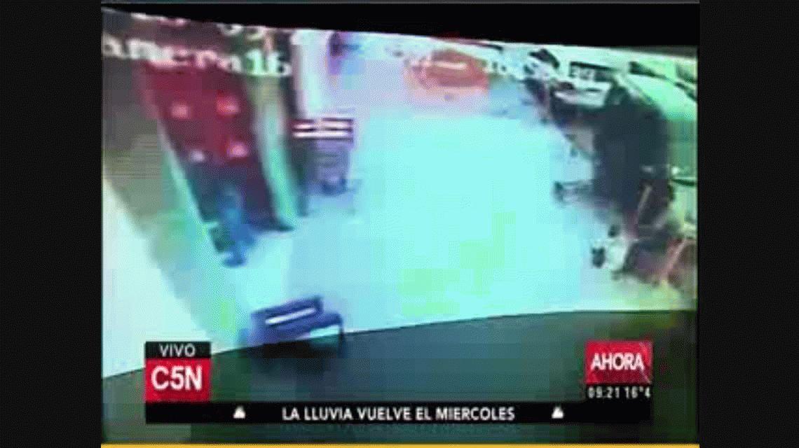 El accidente ocurrió a plena luz del día en Villa Tesei