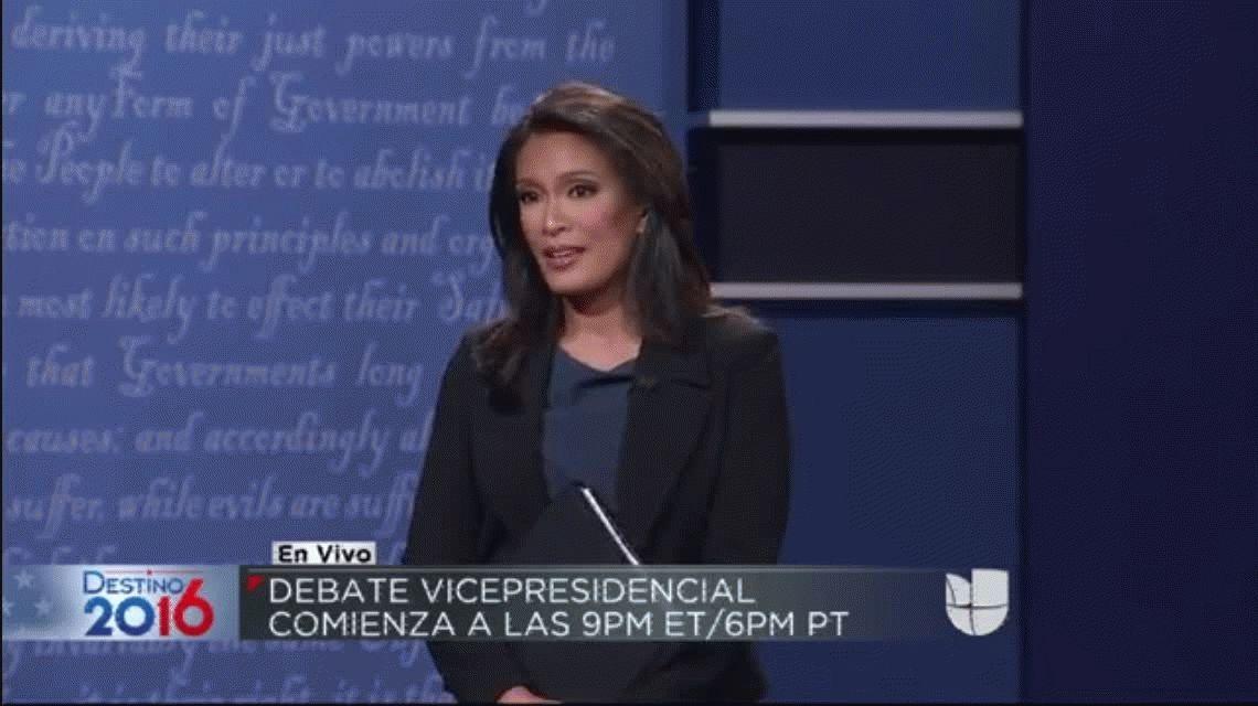 Debate entre los candidatos a la vicepresidencia de Estados Unidos: el de Trump quedó como medido y el de Hillary como agresivo