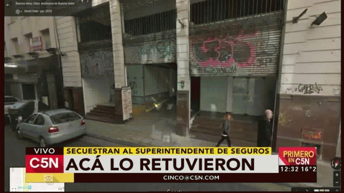 Secuestraron al superintendente de Seguros de la Nación: fue liberado a las tres horas