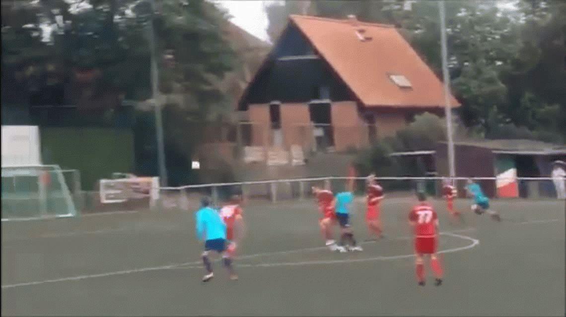Impresionante: mirá este increíble golazo en el fútbol alemán