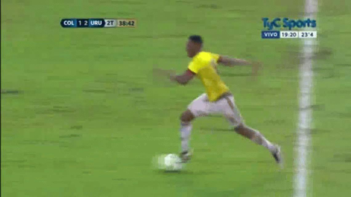 El empate de Jerry Mina para Colombia ante Uruguay en Barranquilla por Eliminatorias