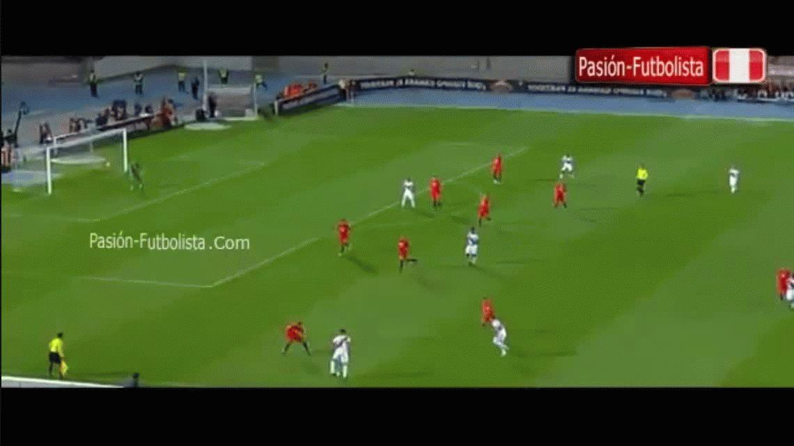 Chile enfrentó a Perú por Eliminatorias