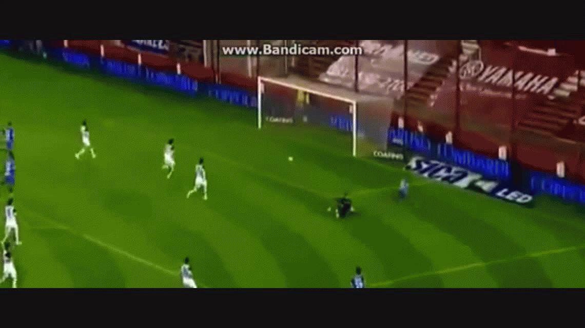 González descontó para Godoy Cruz ante San Lorenzo por Copa ARgentina