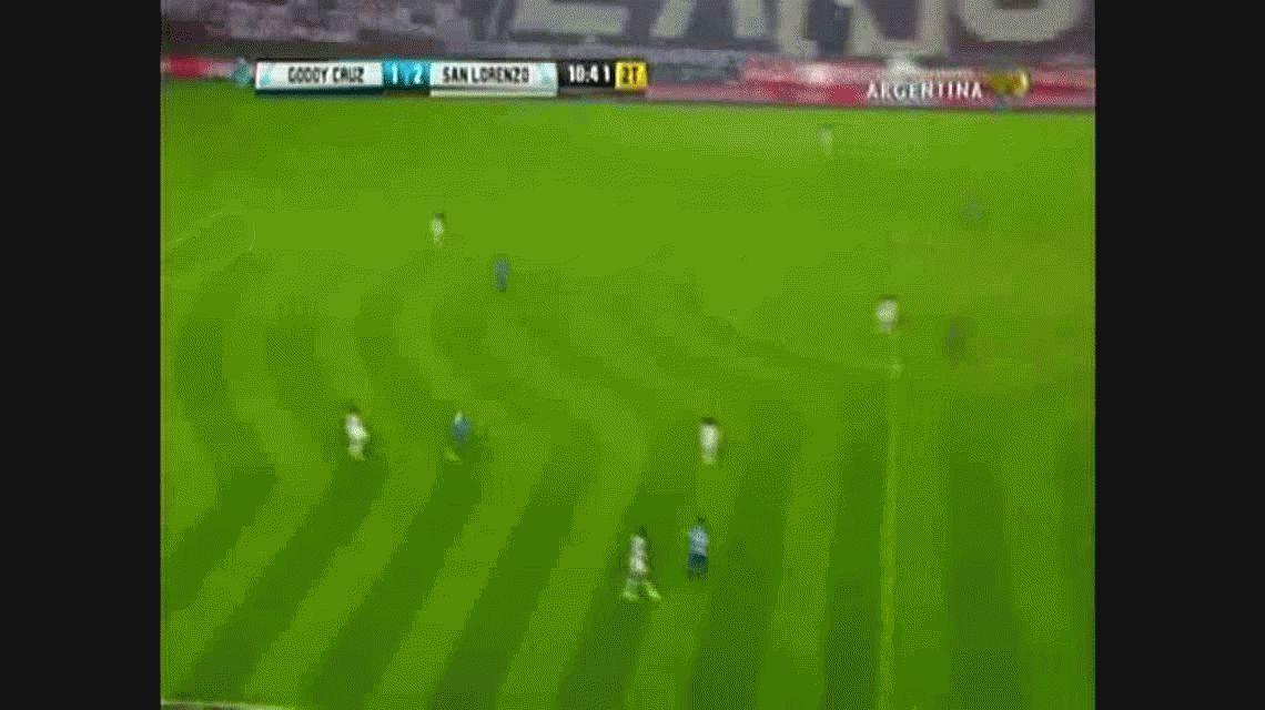 Fernando Belluschi anotó el tercero de San Lorenzo ante Godoy Cruz por Copa Argentina