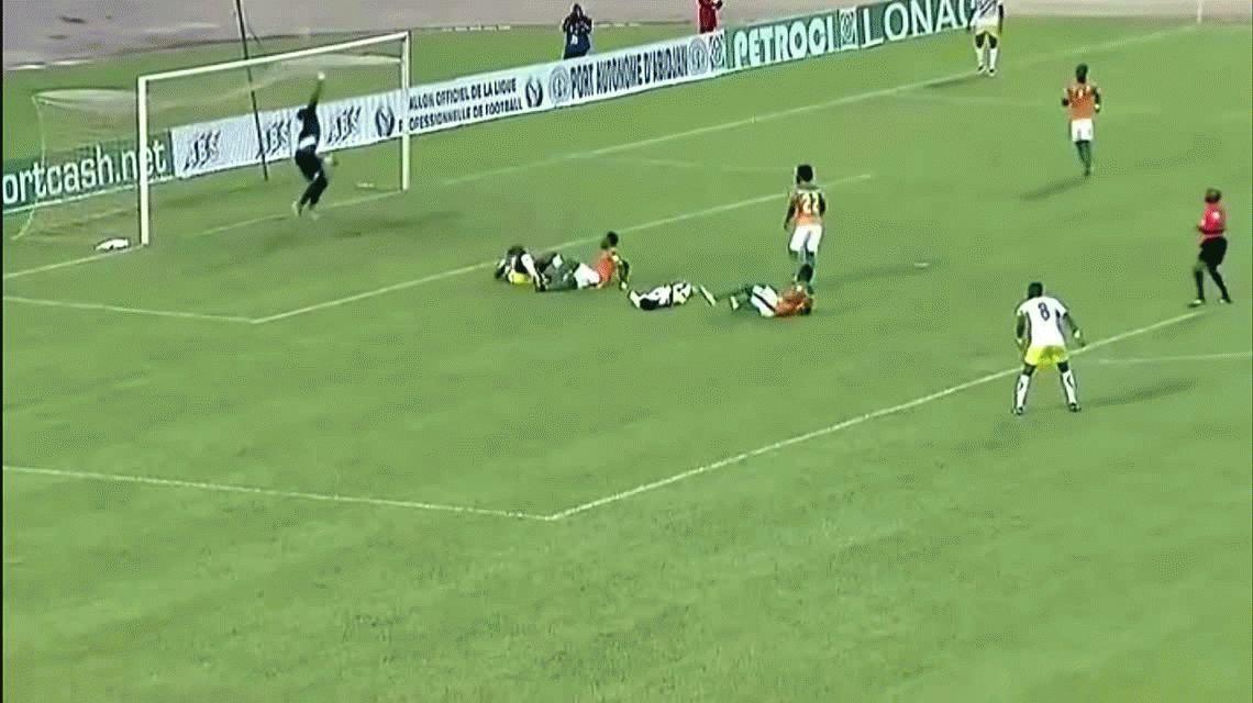 Dramático: un jugador le salvó la vida a un rival en las Eliminatorias africanas