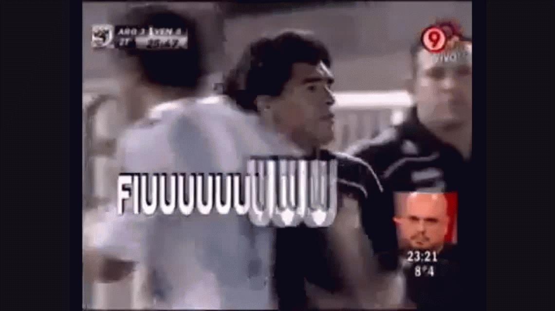 El día que Maradona se le plantó al Monumental e hizo que ovacionen a Verón