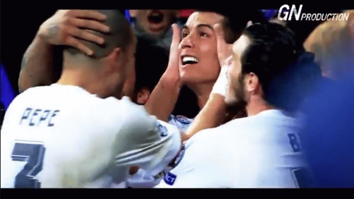 Cristiano Ronaldo recibió el premio al mejor futbolista de la Champions League 2015/16