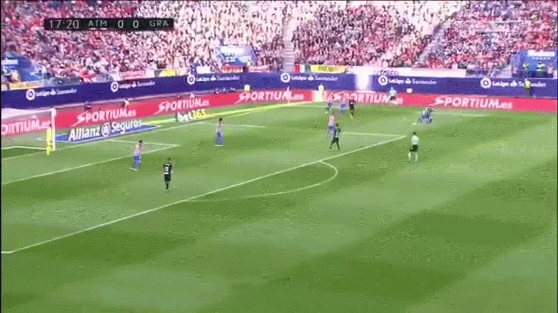 El Atlético Madrid aplastó al Granada por 7 a 1 por la Liga española