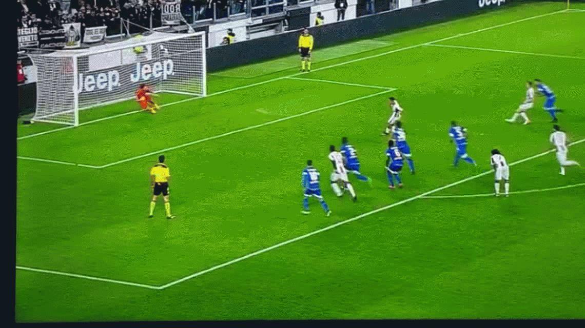 Paulo Dybala marcó el segundo gol de Juventus para dar vuelta el partido ante Udinese