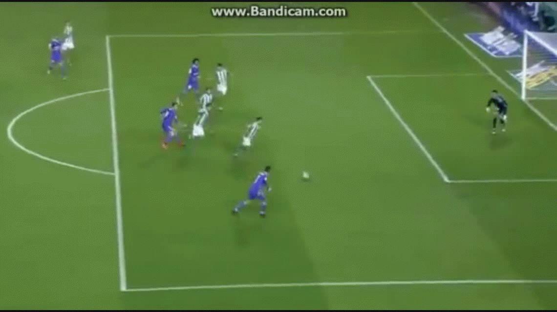 Isco anotó el quinto gol del Real Madrid ante el Betis