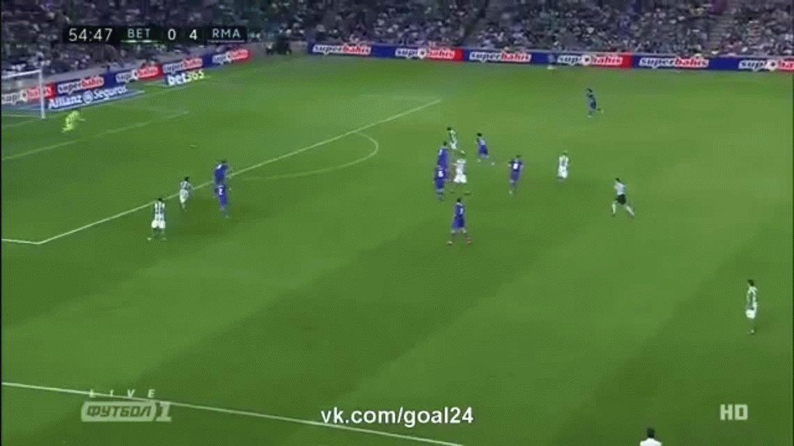 Álvaro Cejudo descontó para el Betis ante Real Madrid