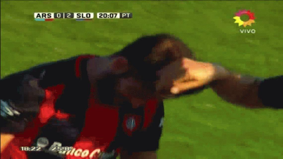 Se lleva la pelota: el hat-trick de Cauteruccio en la goleada de San Lorenzo