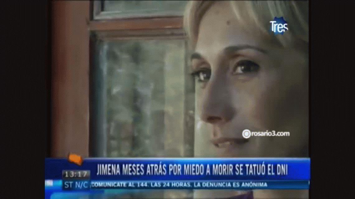 Mujer denunció amenazas de su ex pareja. Gentileza de Rosario3.com