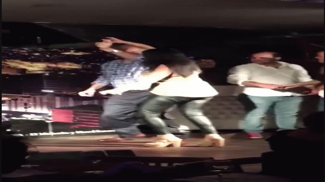 El baile bizarro del secretario de Empleo de la Nación