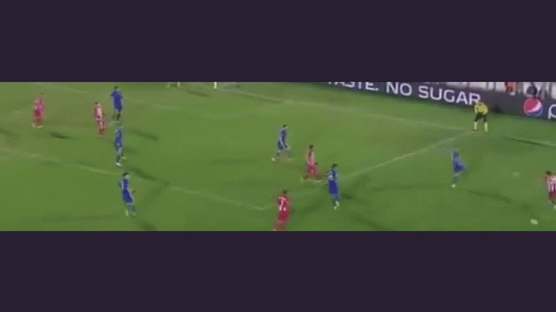El gol del belga Yannick Ferreira Carrasco para el Atlético Madrid ante el Rostov en Rusia