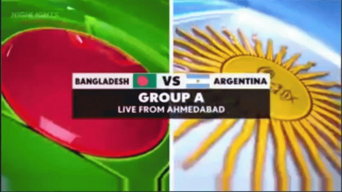 Argentina disputa el Mundial de kabaddi en la India