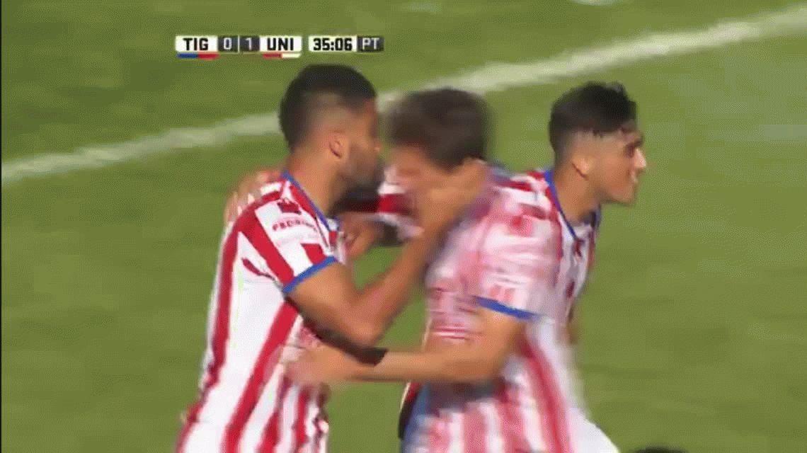Unión no lo aguantó y Tigre se lo empató en Victoria