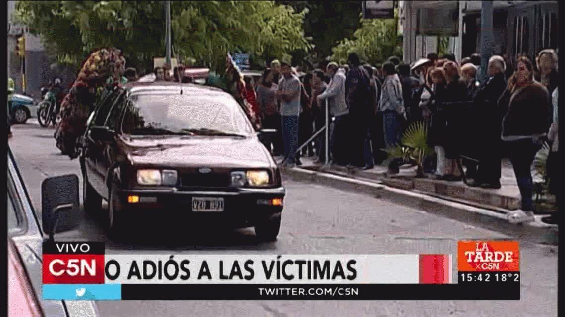 Funeral de las tres mujeres asesinadas en Mendoza