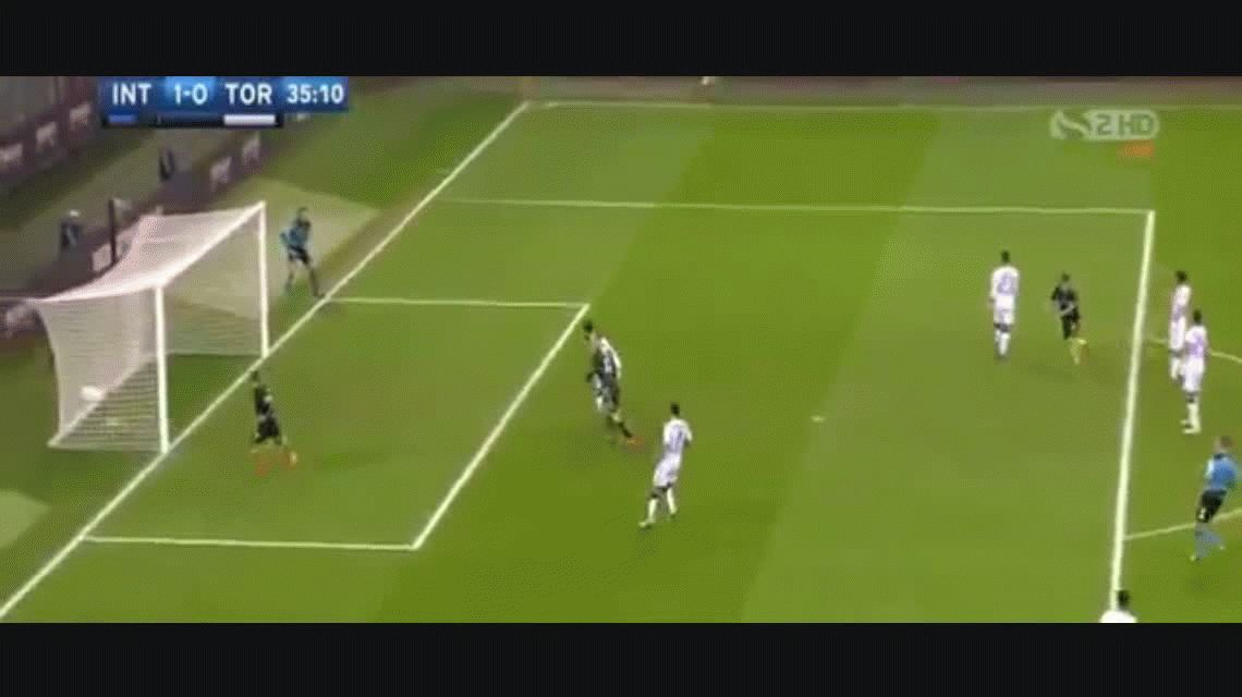Mauro Icardi anotó un gol para el Inter ante Torino por la Liga italiana