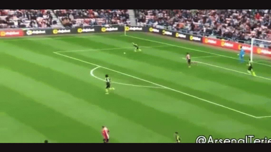 El fútbol que le gusta a la gente: 22 pases para un golazo de Alexis Sánchez