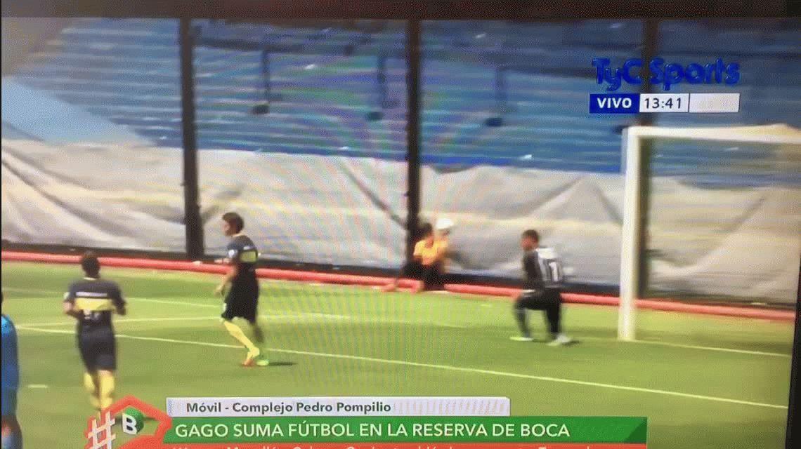 Mirá el primer gol de Fernado Gago tras su larga recuperación