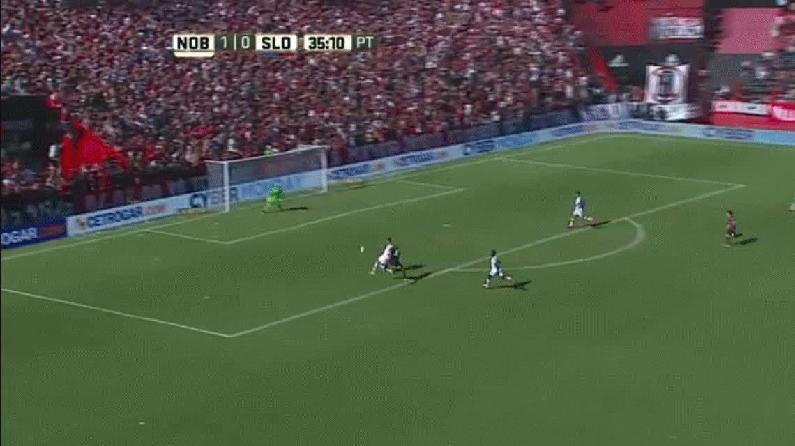 Newells no lo aguantó y San Lorenzo se lo empató en el final