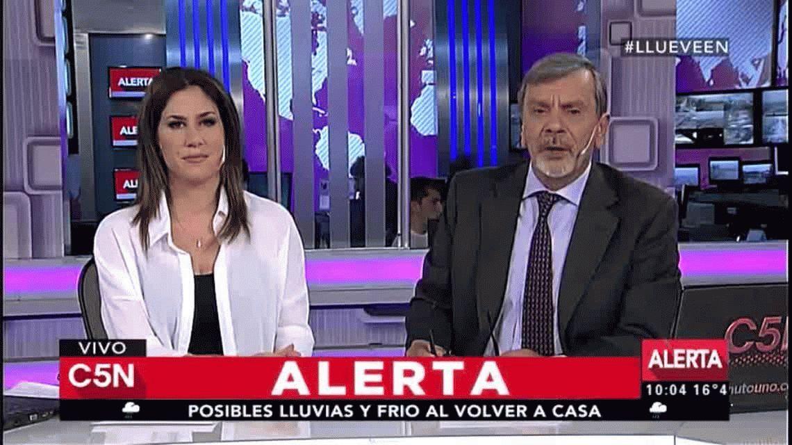 Habló la mujer que rescató a María Gabriela Oliveto: Tuve miedo, pensé en no abrirle