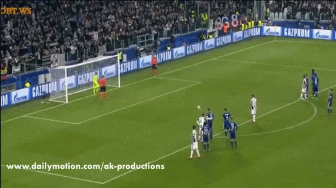 Juventus y Lyon empataron 1 a 1 por la Champions League