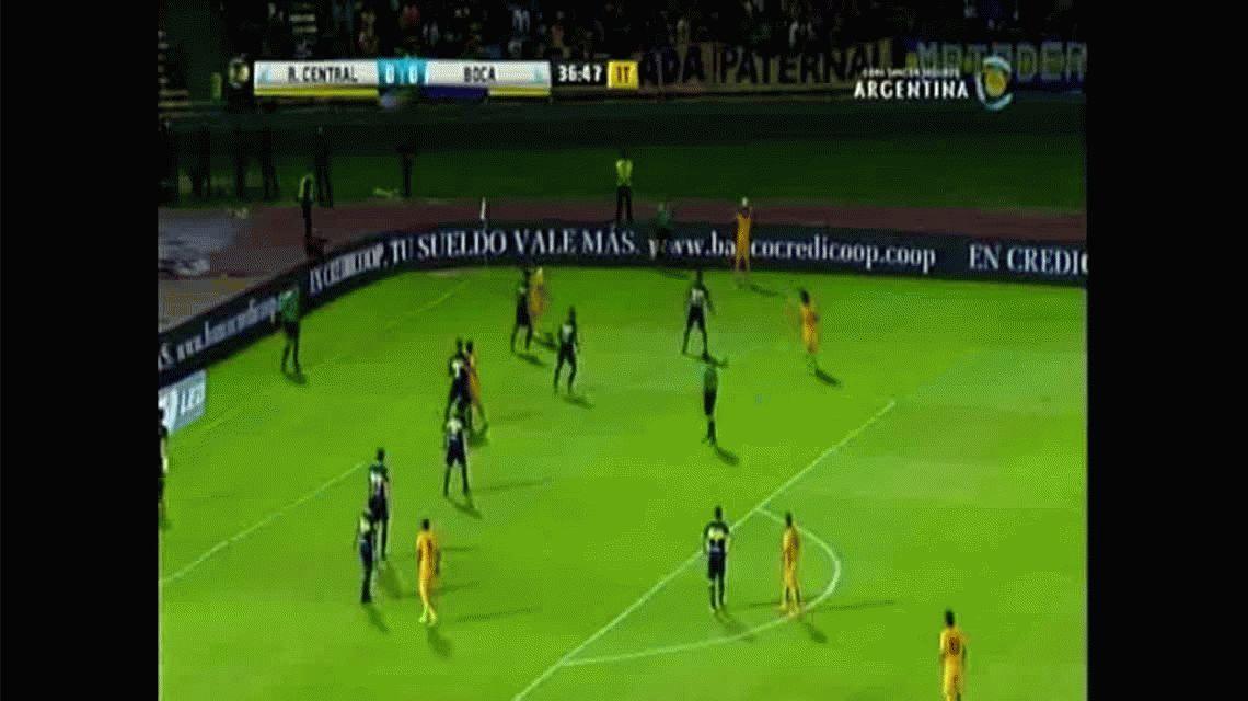 Fernández anotó el primer gold e Rosario Central ante Boca por Copa Argentina