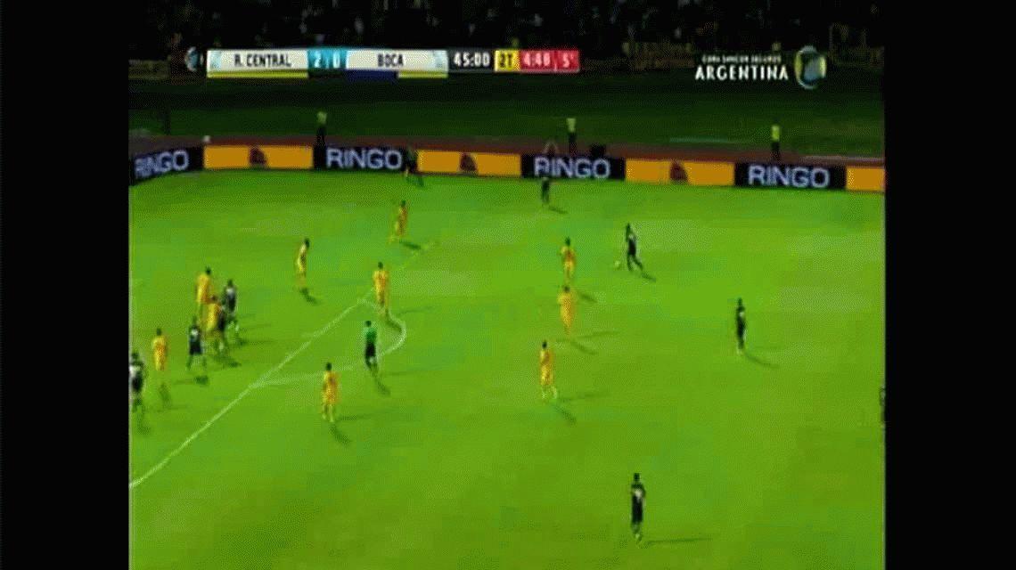 Darío Benedetto descontó sobre el final para Boca ante Rosario Central por Copa Argentina