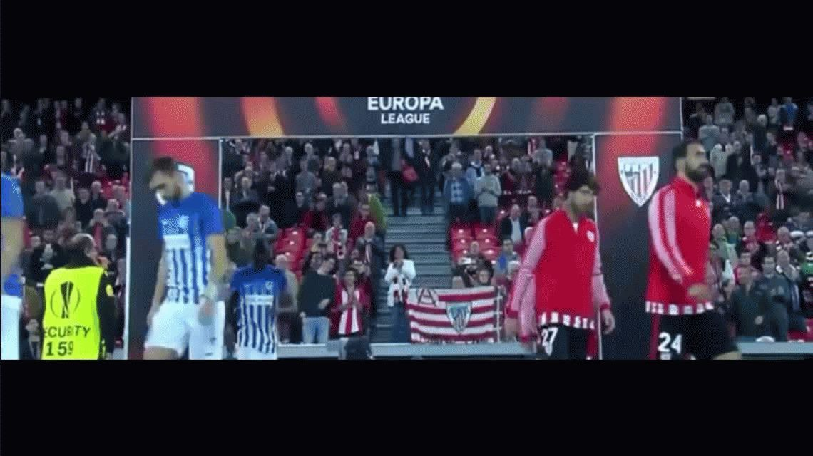 Los cinco goles de Aritz Aduriz para el Athletic Bilbao por la Europa League