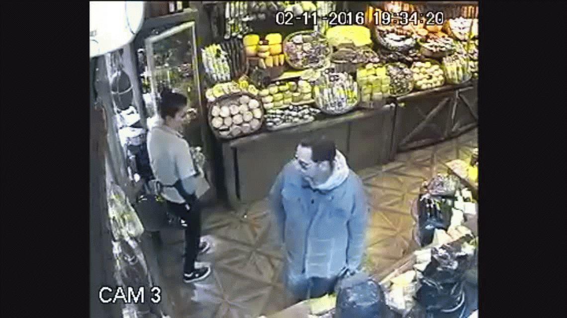 El robo ocurrió en una fiambrería de la ciudad de Mar del Plata