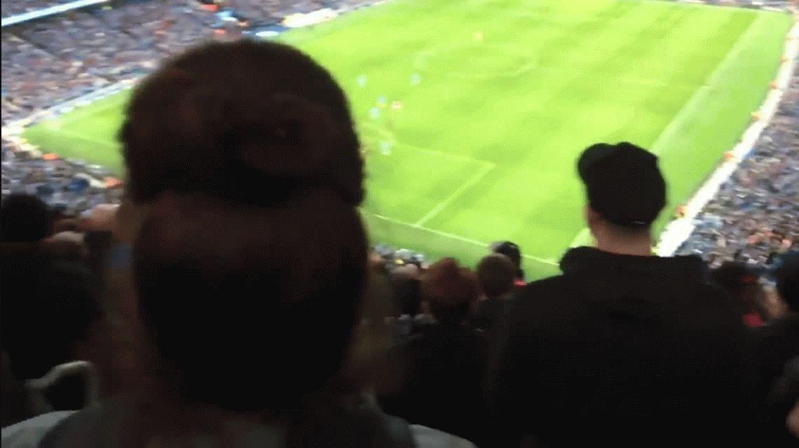 VIDEO: La irónica canción que avergonzó a los hinchas del City en su propio estadio