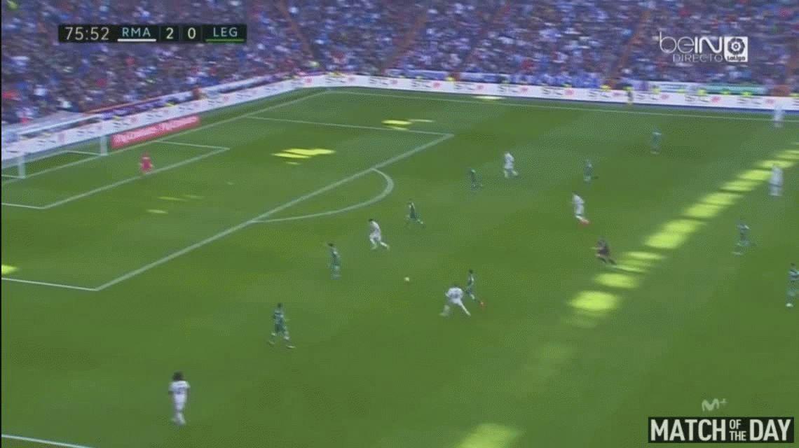 Real Madrid goleó al Leganés y se consolidó como líder