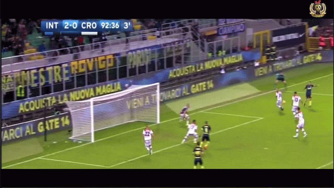 Bauza lo mira por TV: Icardi hizo dos tantos más y ya es el goleador de la Liga