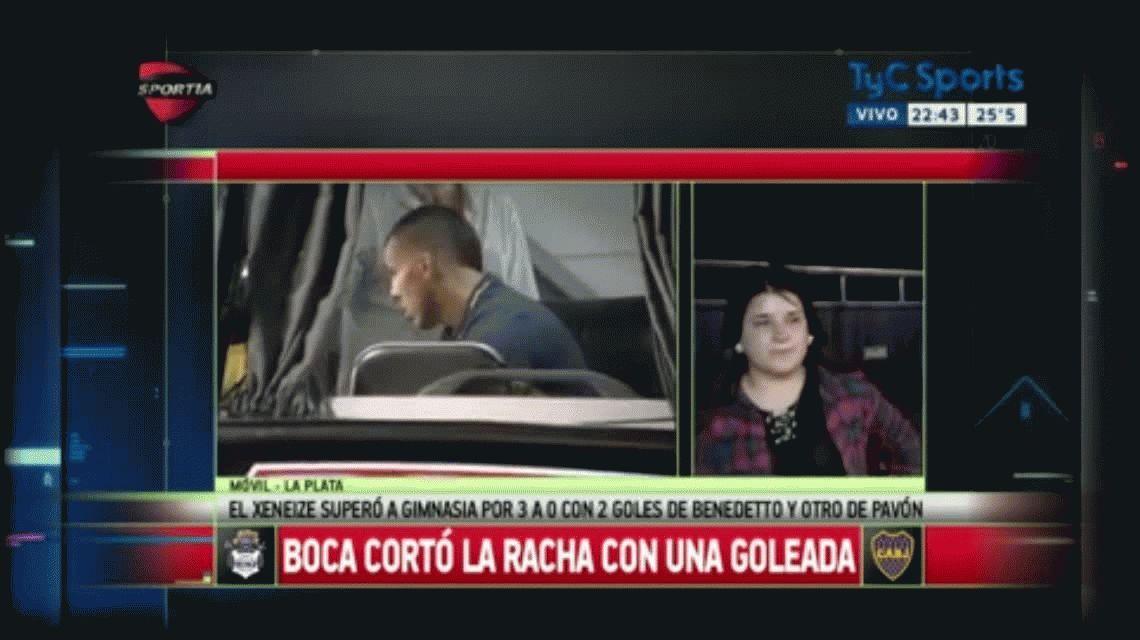 El emocionante gesto de Carlos Tevez con una fanática en La Plata