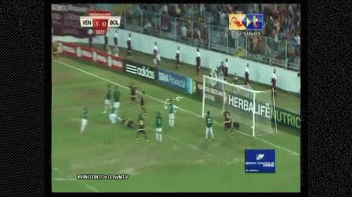 Josef Martínez anotó el segundo gol de Venezuela ante Bolivia por Eliminatorias