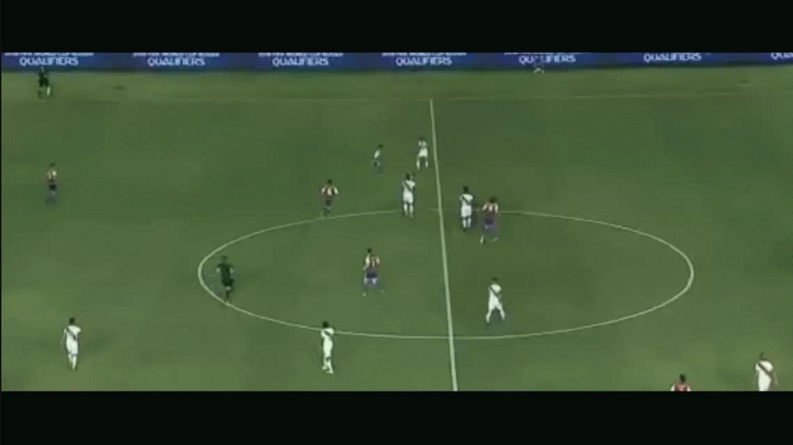 Perú goleó a Paraguay en Asunción por Eliminatorias