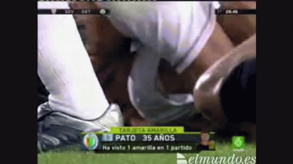 Antonio Puerta se desploma en el encuentro ante Getafe