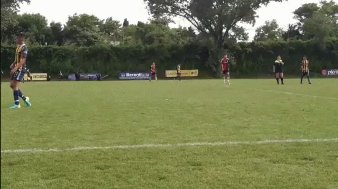 VIDEO: la arenga de un juvenil de Newells antes de salir campeón