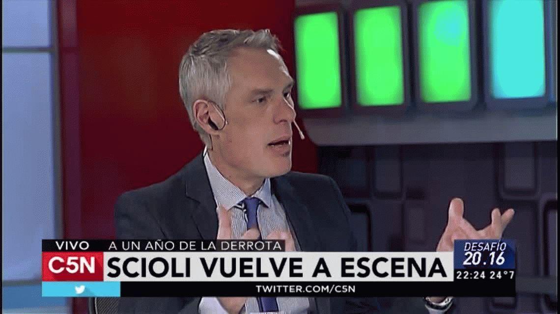 Scioli, a un año del histórico debate presidencial: Macri no cumplió con sus promesas
