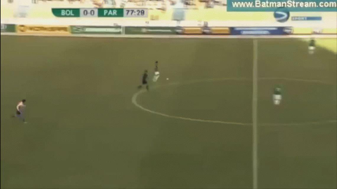 Marcelo Moreno Martins le dio la victoria a Bolivia ante Paraguay en La Paz por las Eliminatorias
