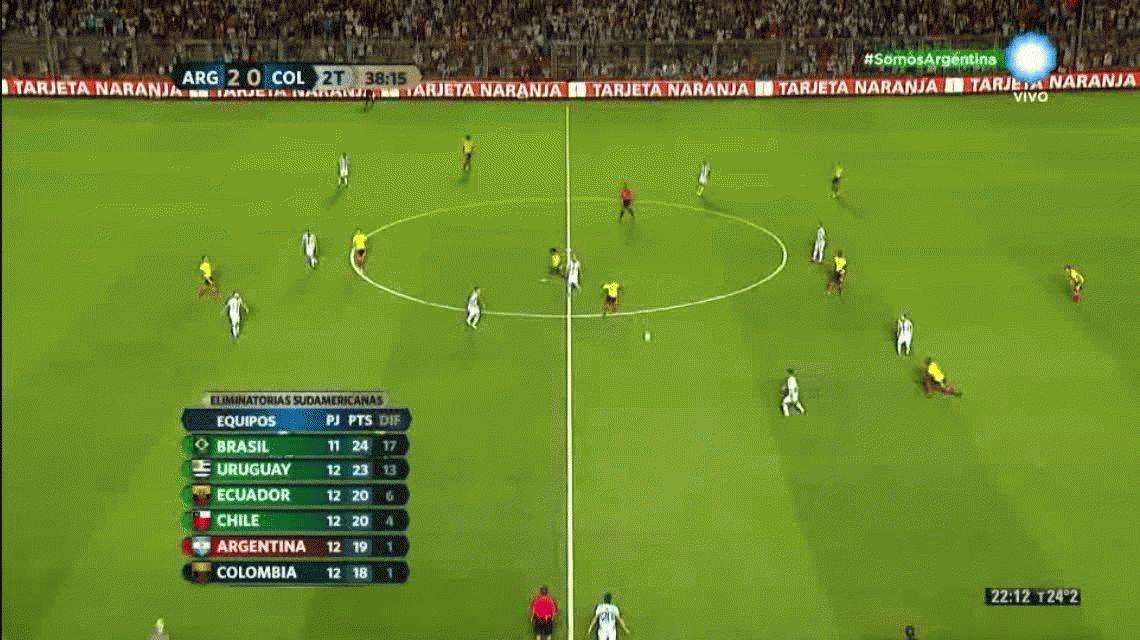 Con un Messi encendido, Argentina goleó a Colombia y ahora está en repechaje