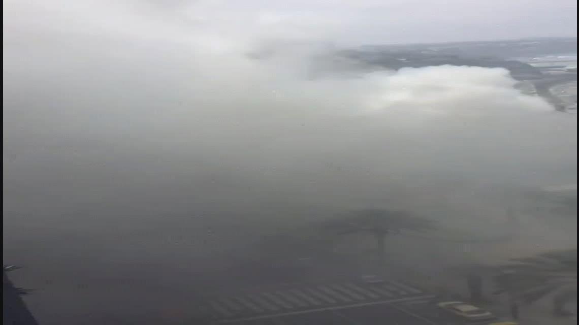 Video incendio shopping Lima