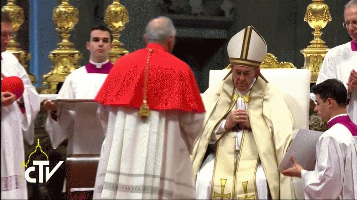Francisco nombró a 17 nuevos cardenales